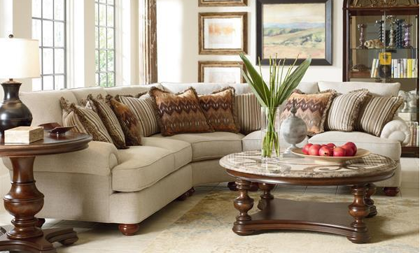 Contemporary Sofa Sectional Easily Accented With Your Flair Of