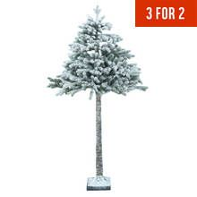 Collection 6ft Snowy Half Christmas Tree | Christmas Tree Offer ...