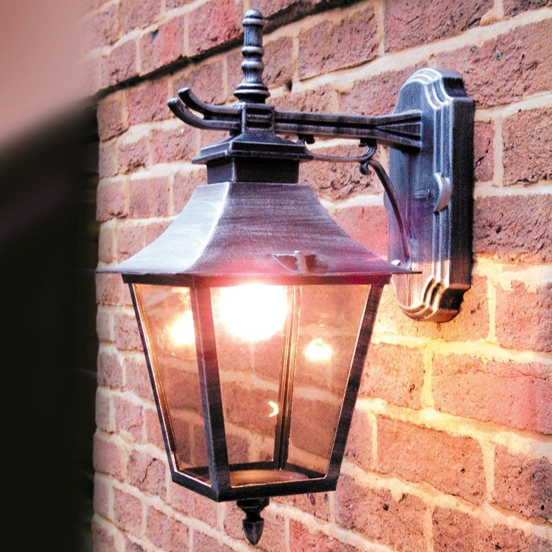 Paber Palazzo Coach Outdoor Hanging Lantern Wall Light Outside