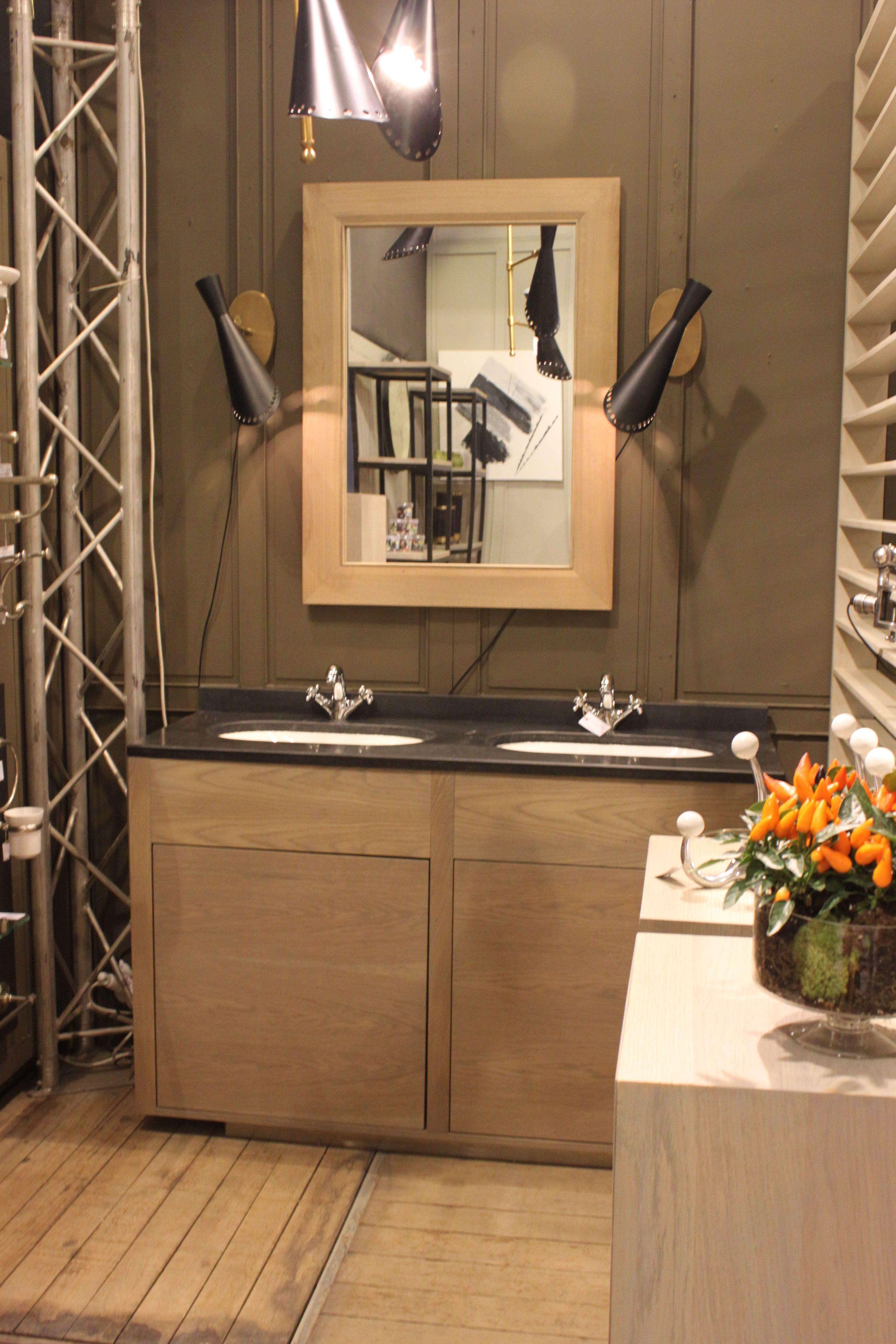 dans la gamme epure le meuble double vasque l139 h90 p50