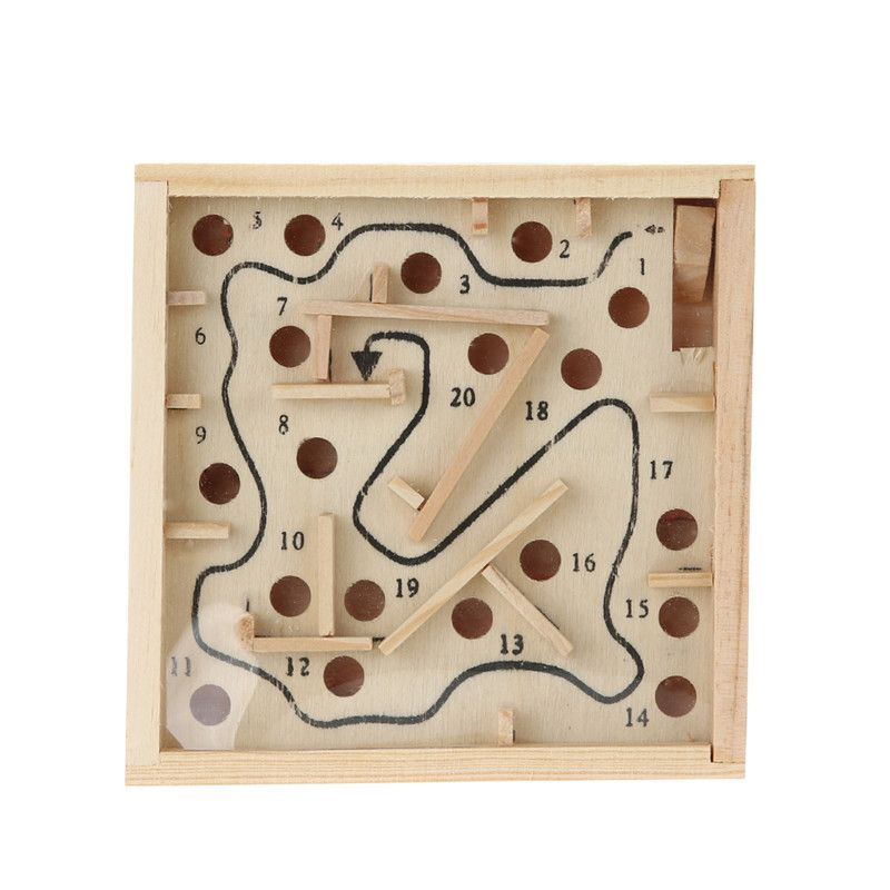 Children Educational Toys Wooden Puzzle Toys Brain Teaser Puzzle Toy Mini Maze Intellectual Development T Math Toys Childrens Educational Toys Educational Toys