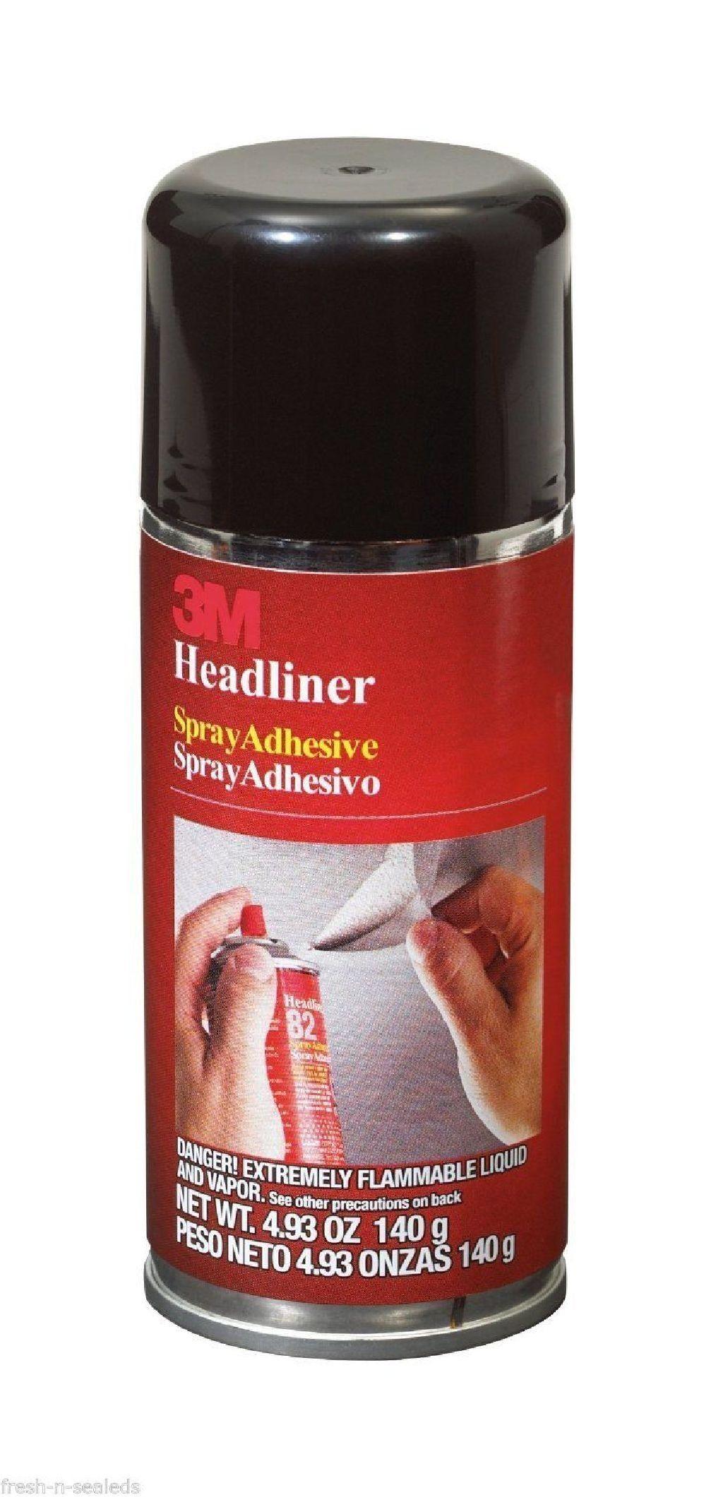 3M Headliner Spray Adhesive 4.93 oz Glue Repair Vehicle
