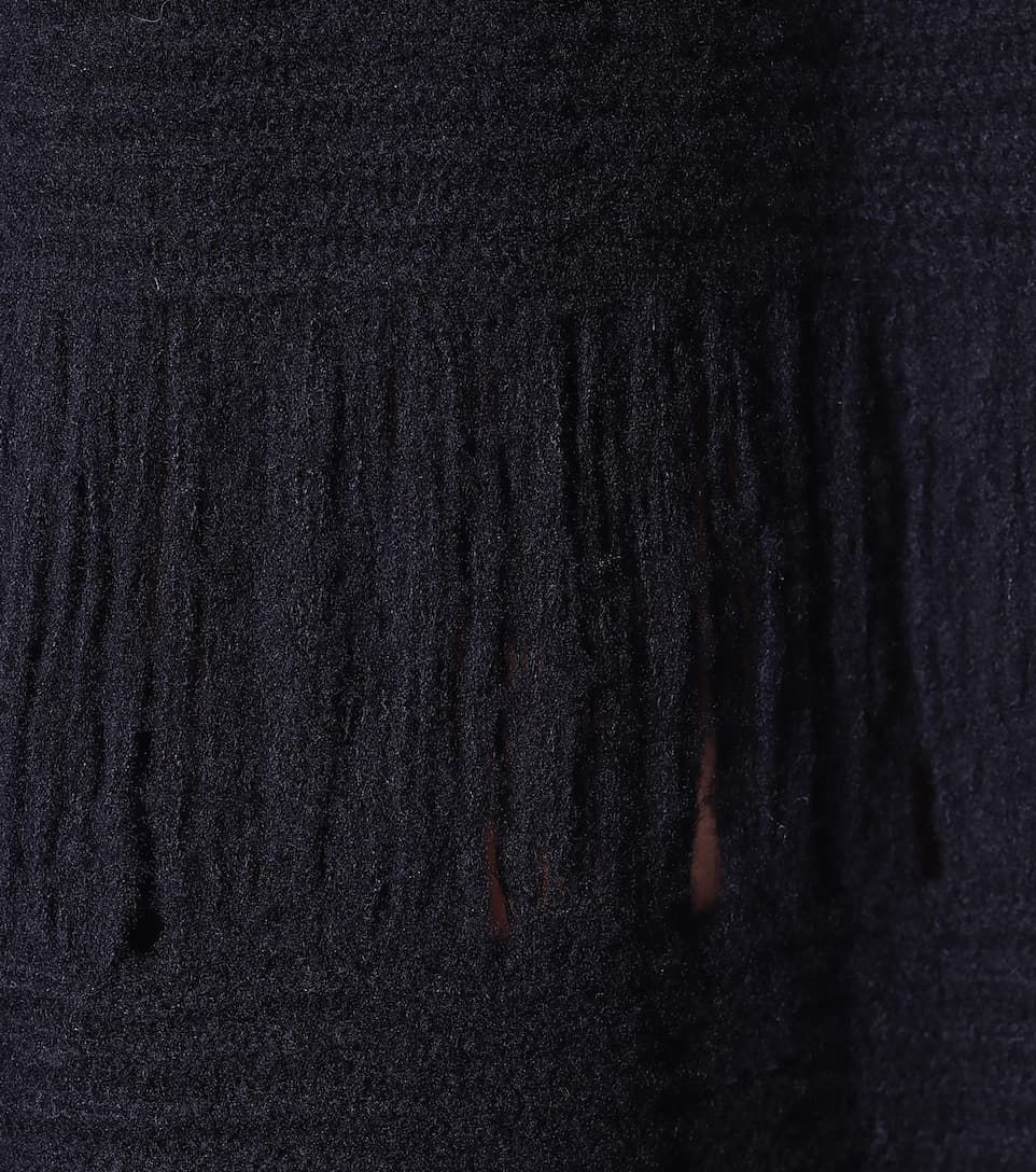Ivanov wool and silk maxi dress Ivanov wool and silk maxi dress in navy blue