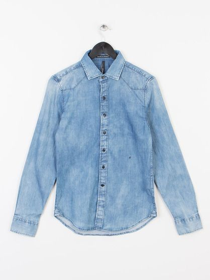 e8440b887f REPLAY DENIM SHIRT
