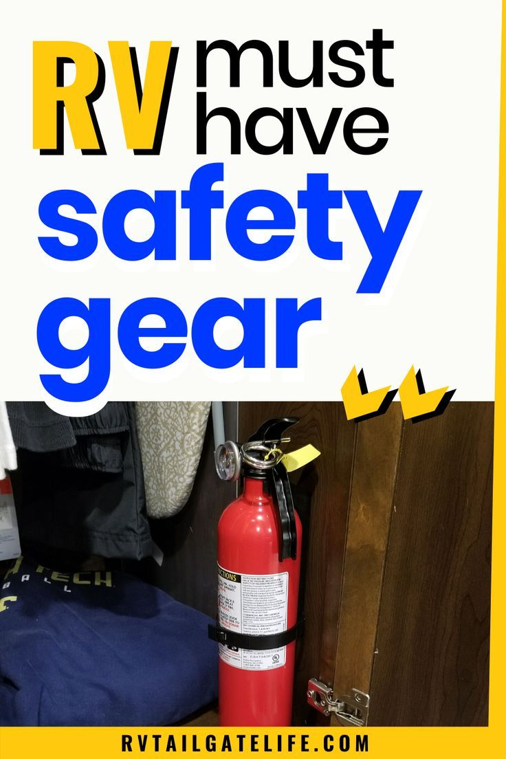 Must Have RV Safety Gear RV Tailgate Life in 2020 Rv
