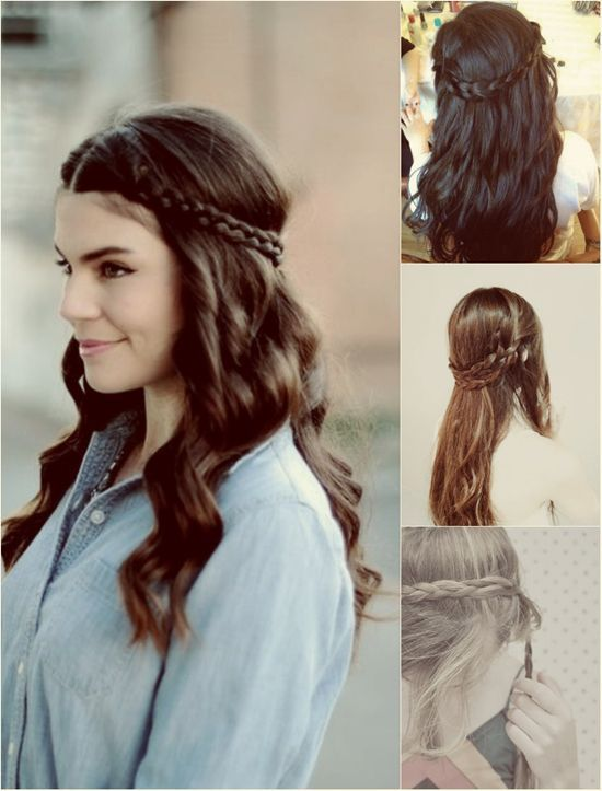 Tremendous 1000 Ideas About Braided Crown Hairstyles On Pinterest Crown Hairstyles For Men Maxibearus