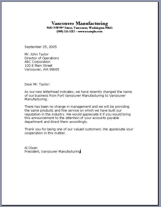 Khumedesign Com Business Letter Template Business Letter Sample Cover Letter For Resume