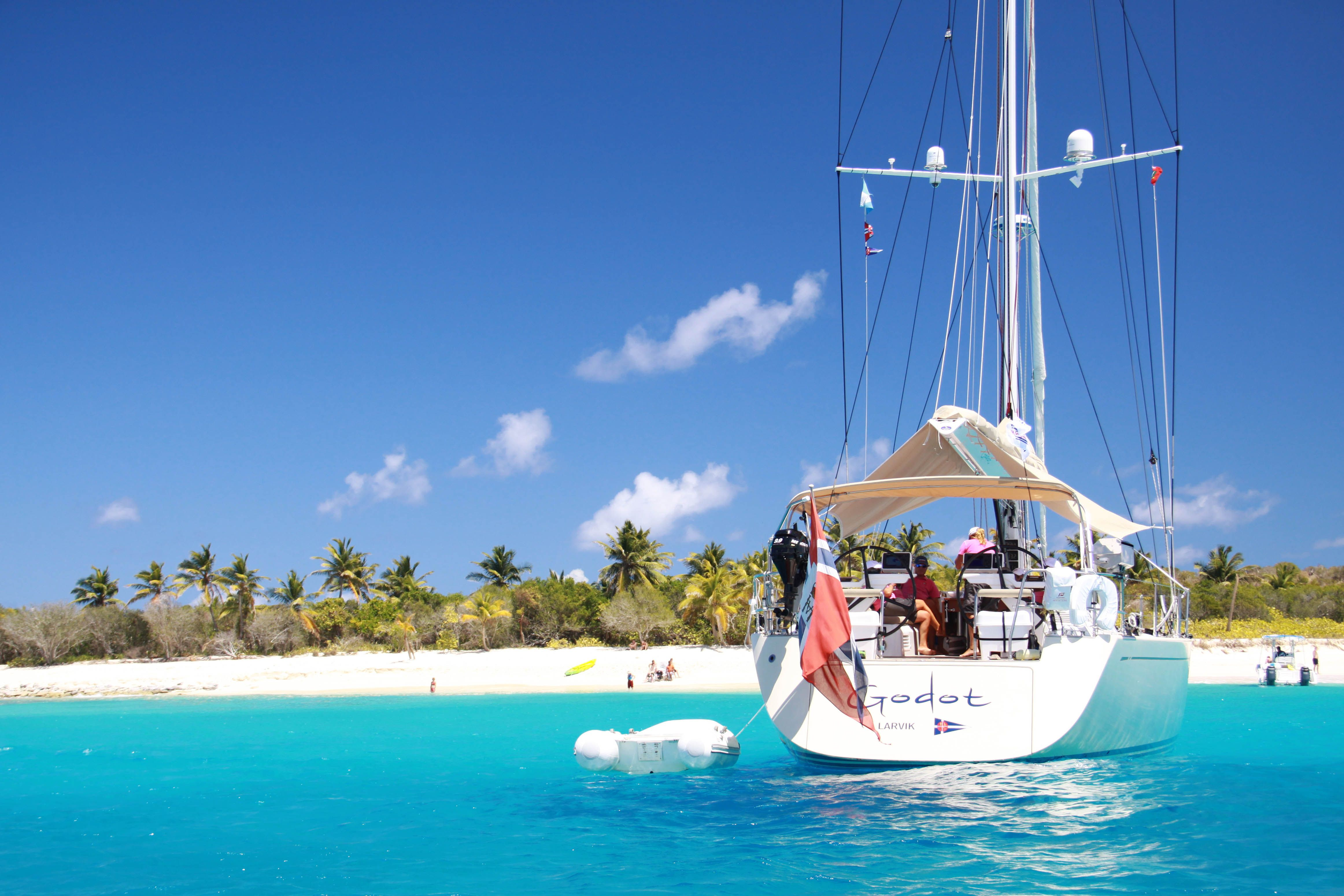 Sailboats In The Caribbean: Go Sailing Around Antigua, The Main Island In The