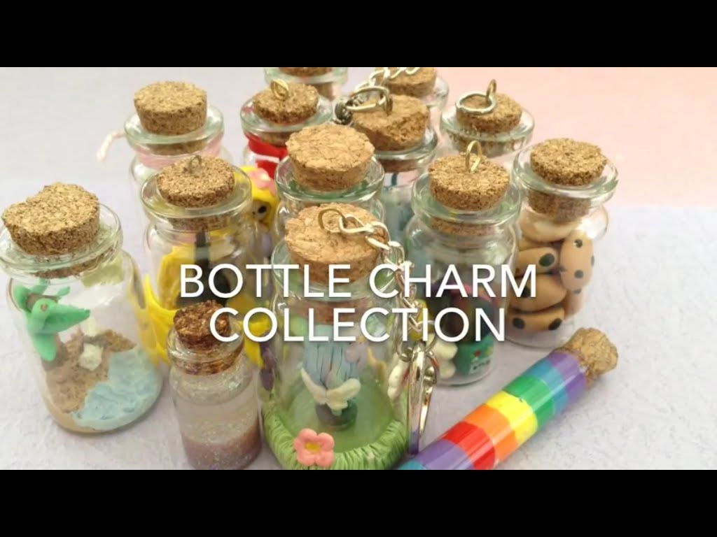 Bottle charm collection