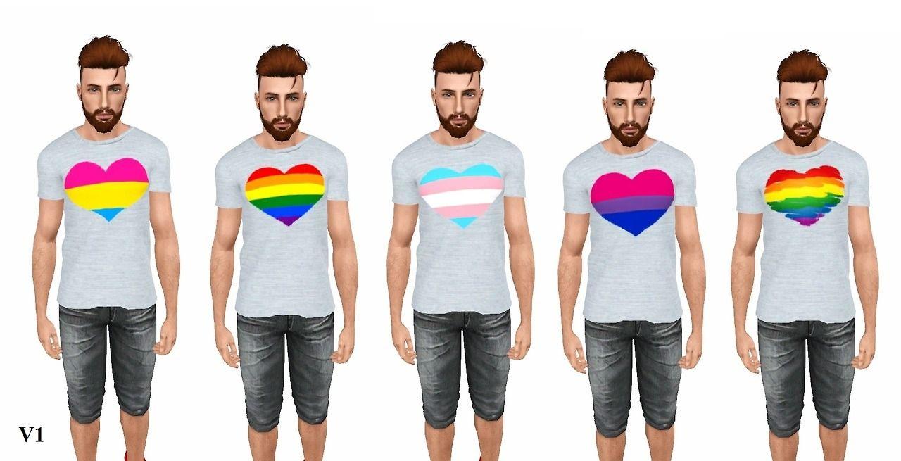 Sims 4 Cc Pride Shirts