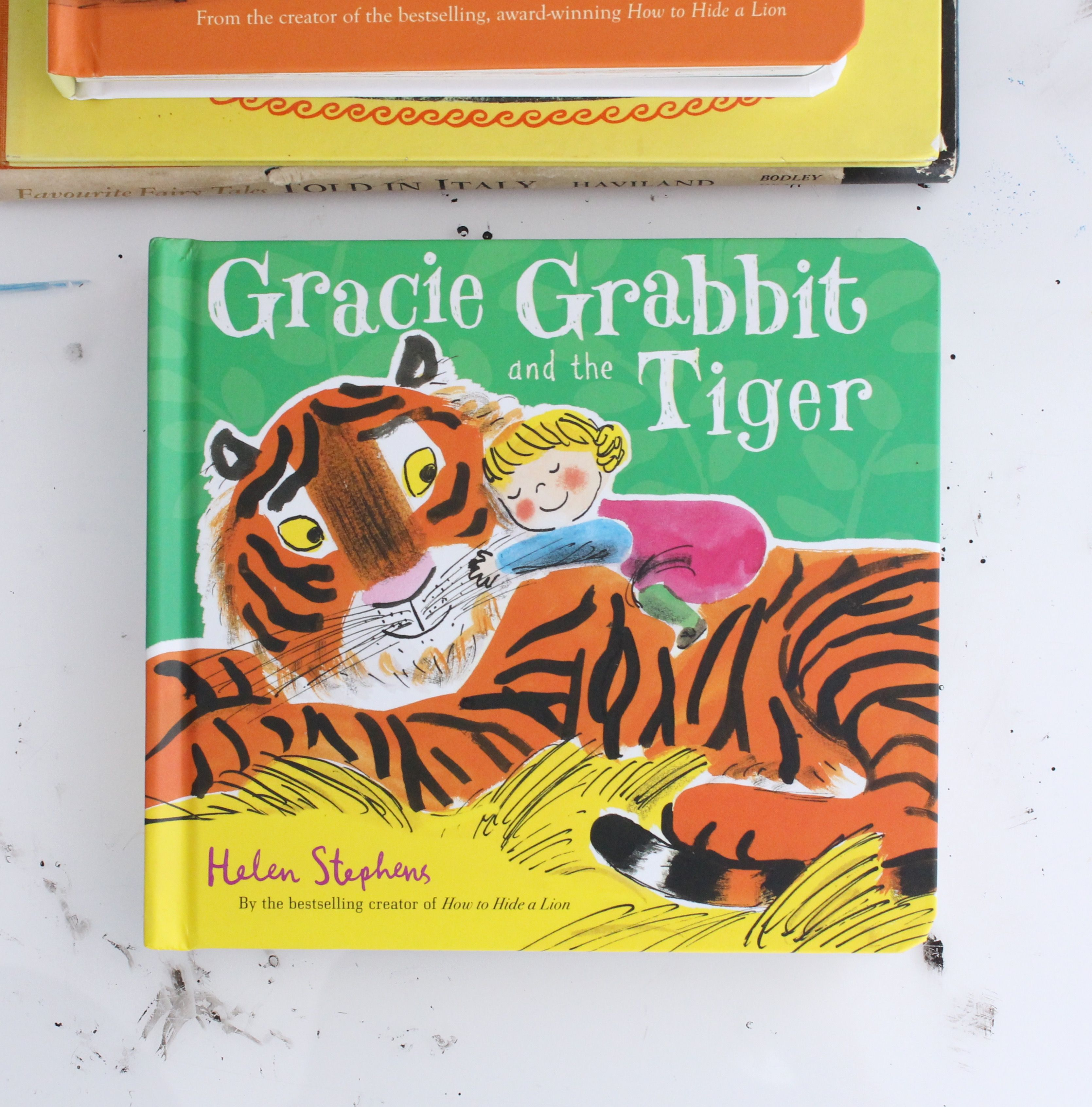Gracie grabbit and the tiger is up for the federation of