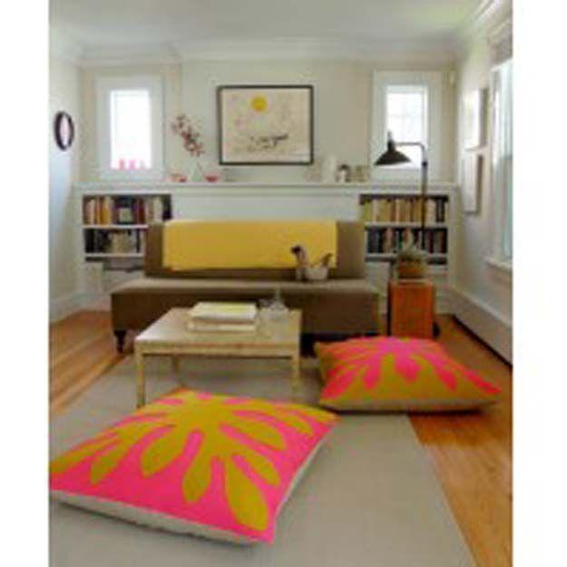 45 Fun DIY pillows | Floor pillows, Crafty and Pillows