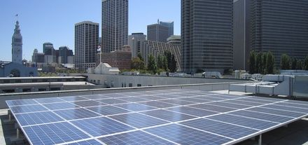 Report Rooftops In Us Cities Could Host 5 000 Mw Of Solar Solar Rooftop Roof Solar Panel