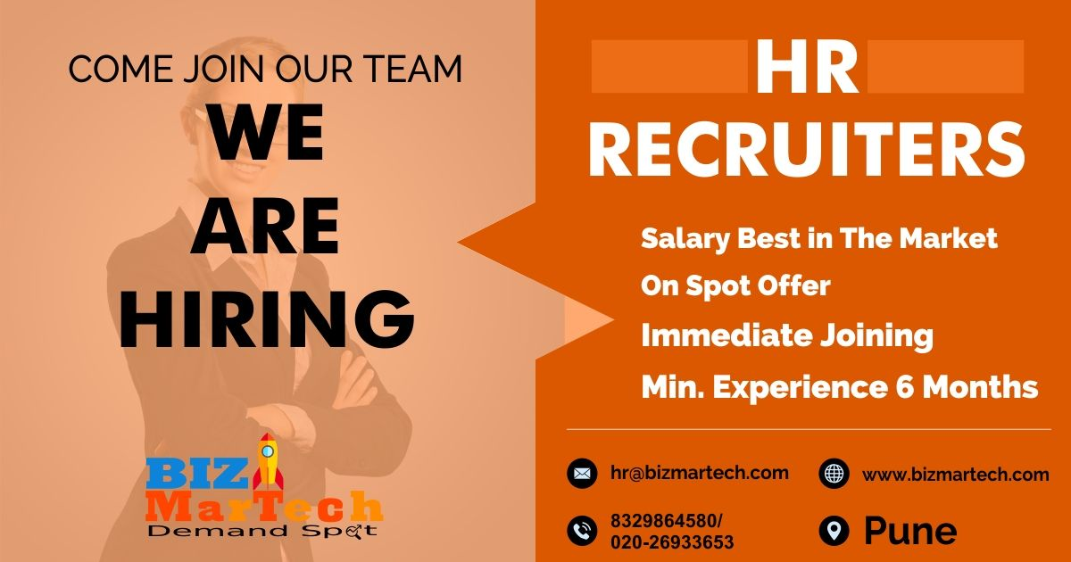 Hello Candidates We Are Hiring For Hr Recruiters For More Info Call On 9309543879 8329864580 Drop Your Cv At Hr Bizmart We Are Hiring Resume Recruitment
