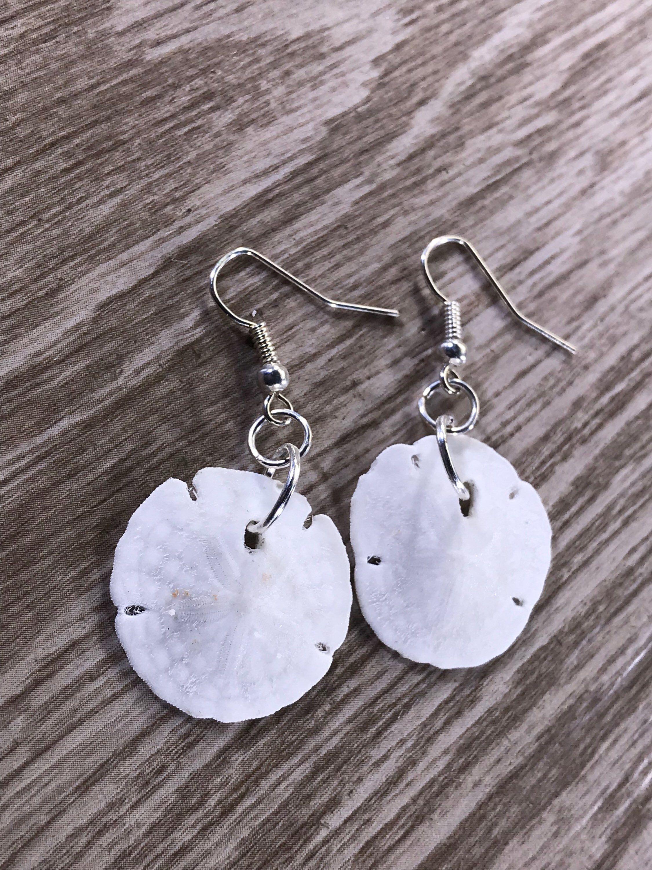 Sand Dollar Earrings Island Lovin Birthday gift for Women