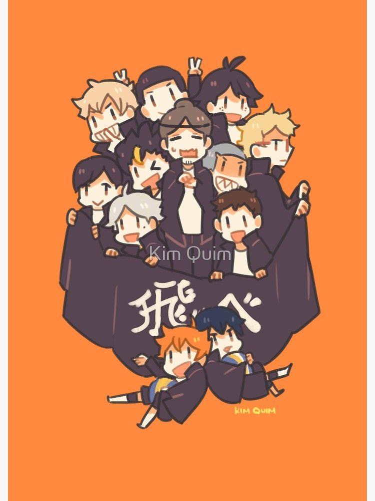 Haikyuu!! Team Karasuno Sticker