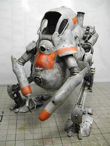 #Kow #Yokoyama #maschinen #krieger #mak #sf3d #scale #model #scfi #1/20 #diorama