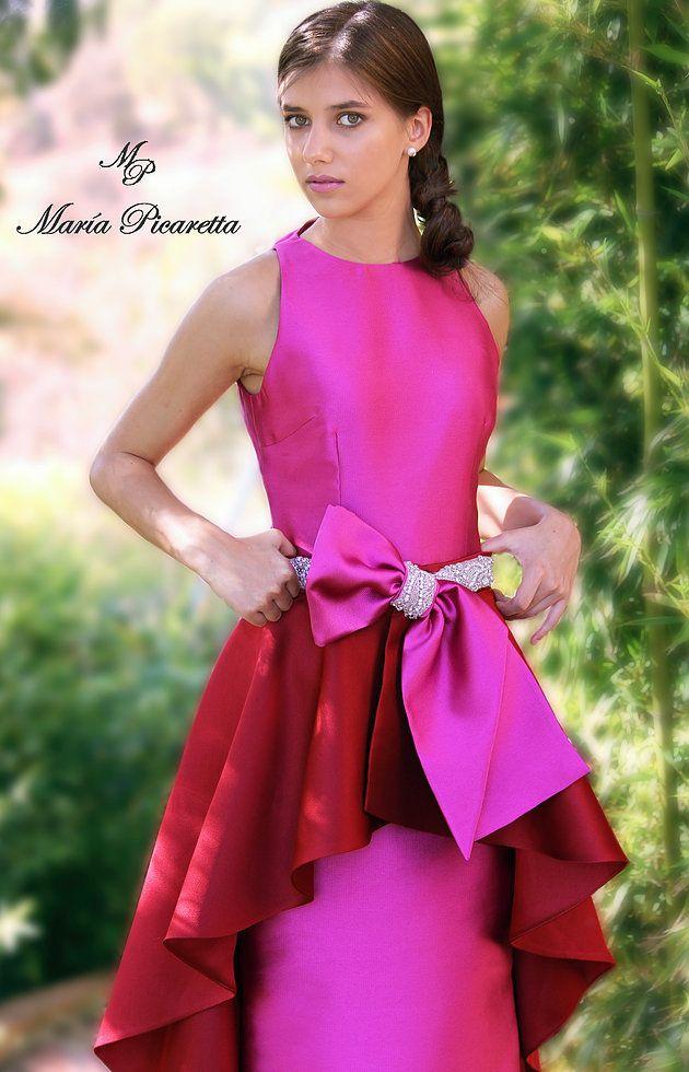 Vestidos de Fiesta de María Picaretta | Moda | Pinterest | Dress ideas