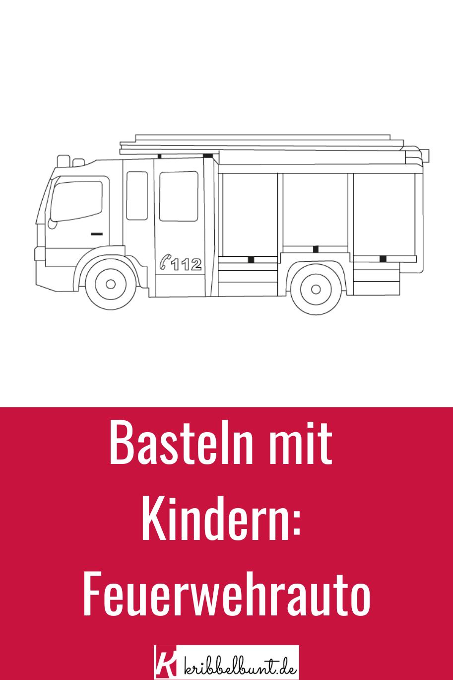 Malvorlage Feuerwehrauto  kribbelbunt.de  Ausmalbilder feuerwehr