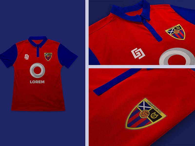 Download Free Football Jersey Design Mockup In Psd Football Jersey Design Mockup Psd Logo Mockup Shirt Mockup Football Tshirts