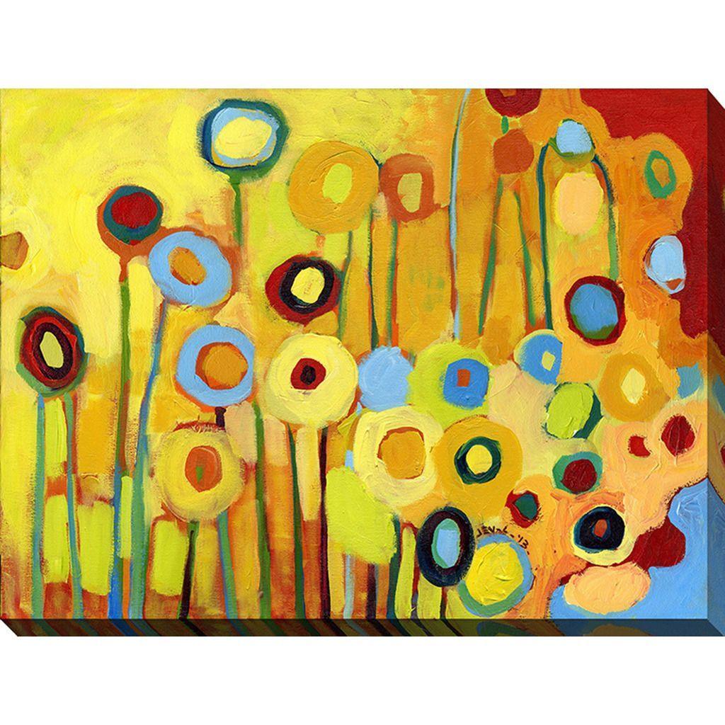 FramedArt.com Jennifer Lommers \'Anitas Poppies\' Giclee Print Wall ...