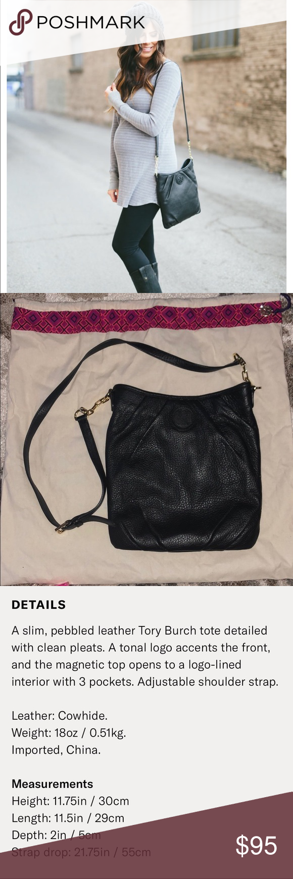 58bb62274cc Tory Burch Kolbe Swingpack Used but so much life left! Excellent condition.  No scuffs