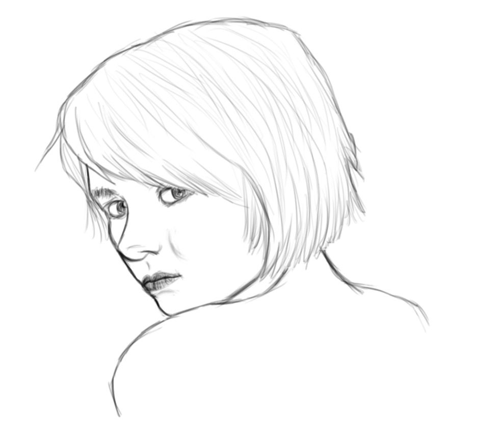 Blank Face Coloring Pages images | Color: People/Ladies | Pinterest ...