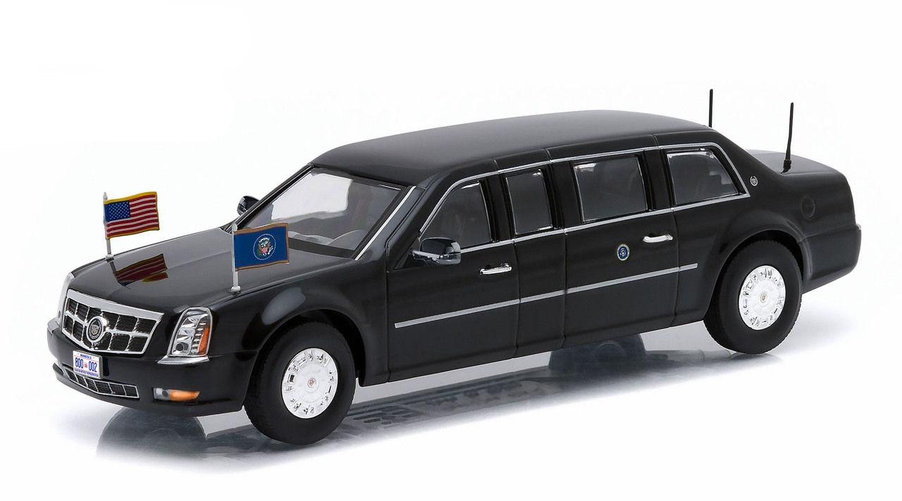 Presidential Limousine Series 1 4pc Set 1 43s Diecast Cars