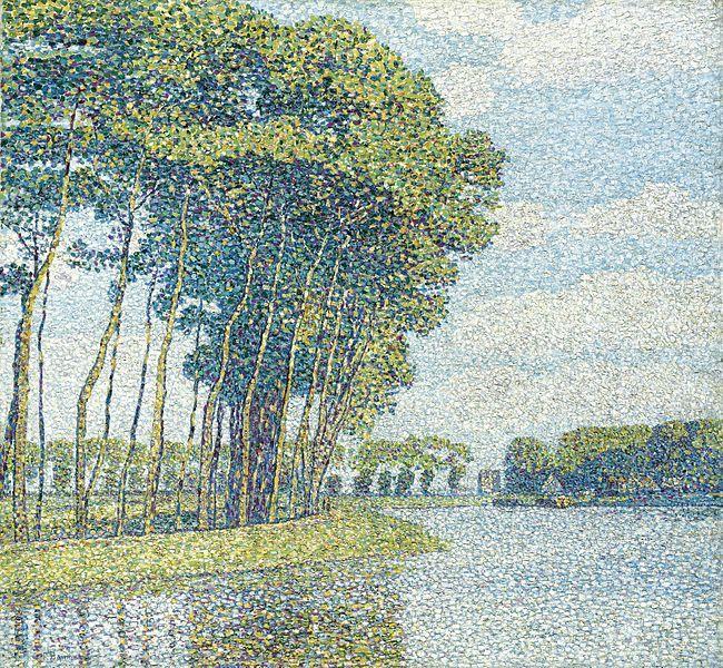 Paul Baum Bäume am Kanal