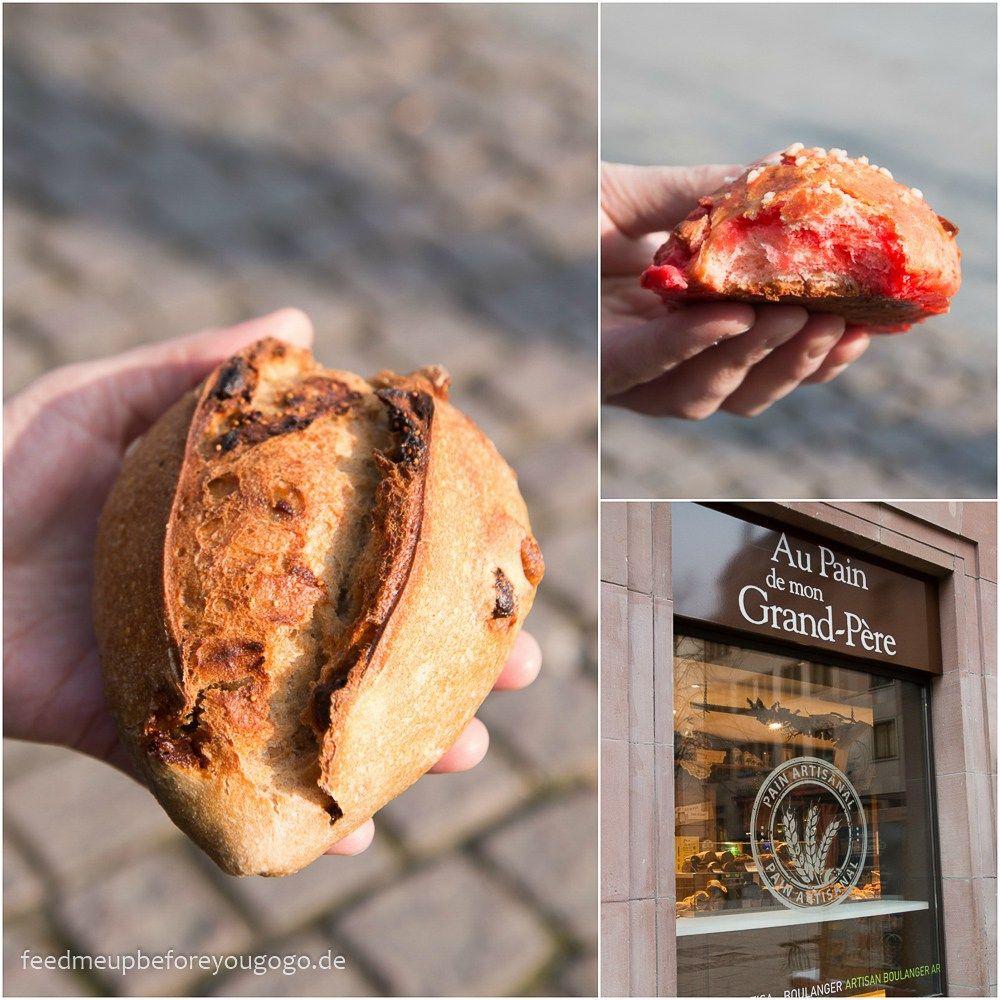 Au Pain de mon Grand-Père Straßburg kulinarisch Strasbourg Food-Tipps Feed me up before you go-go