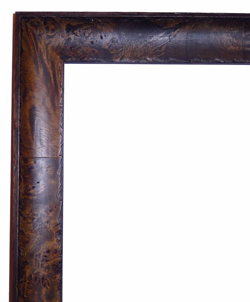 Walnut Wood Veneer Picture Frame Contemporary 18x24