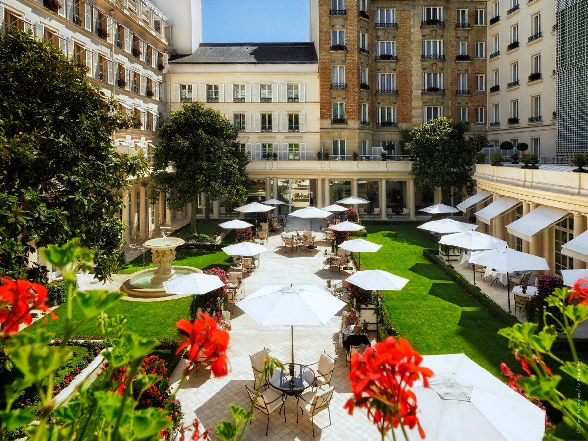 Le Jardin Français de l'Hôtel Le Bristol Paris ...