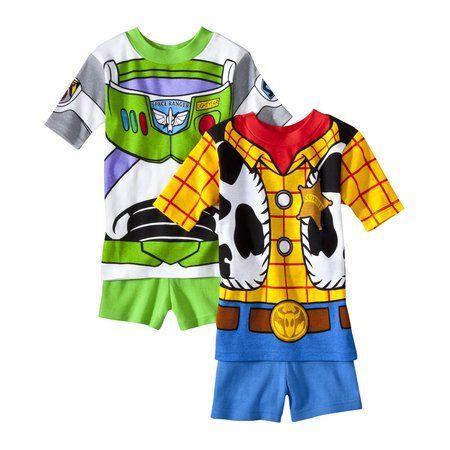 $14 Target Disney-Pixar Toy Story Boys 4-Piece Pajama Set - Multicolor