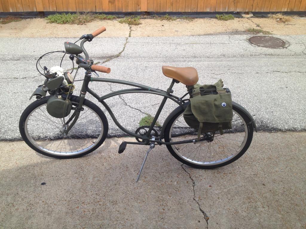 Hooray I Got The Sears Free Spirit Working Motorized Bicycle Engine Kit Forum Powered Bicycle Bicycle Engine Motorized Bicycle