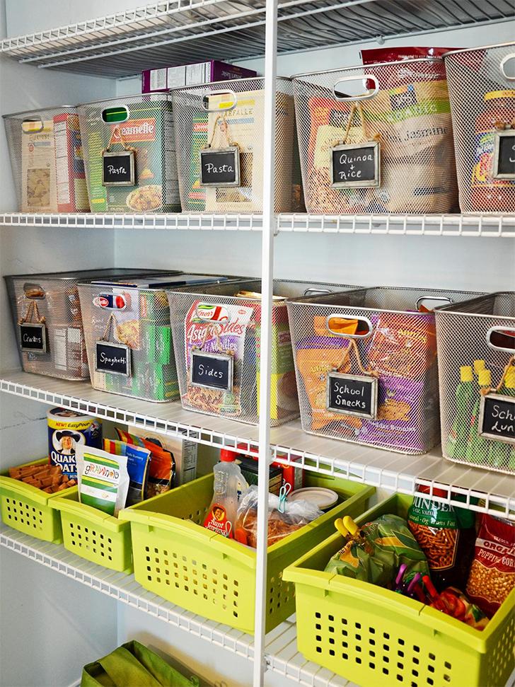 como organizar a despensa ou o armrio da cozinha