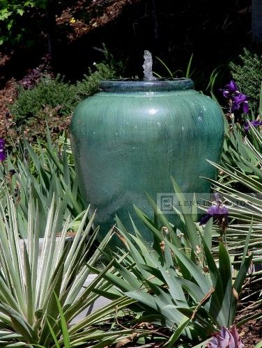 Hillside Urn Fountain Contemporary Landscape Simple Yet Beautiful Water Feature Garden Water Fountains Water Fountain Design Fountains Backyard