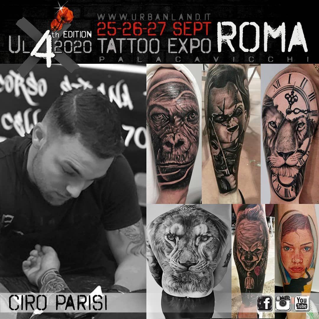 Ecco a voi gli artisti che parteciperanno alla 4th edizione di Urban Land Tattoo Expo Roma 2020. Gio