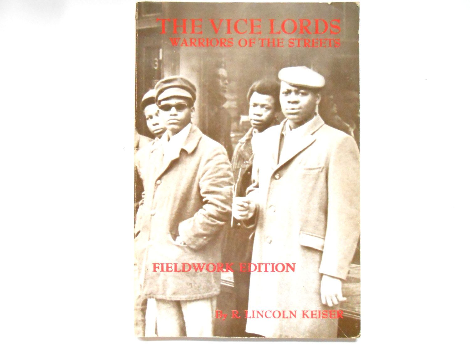 The Vice Lords Warriors Of The Streets A Vintage Book