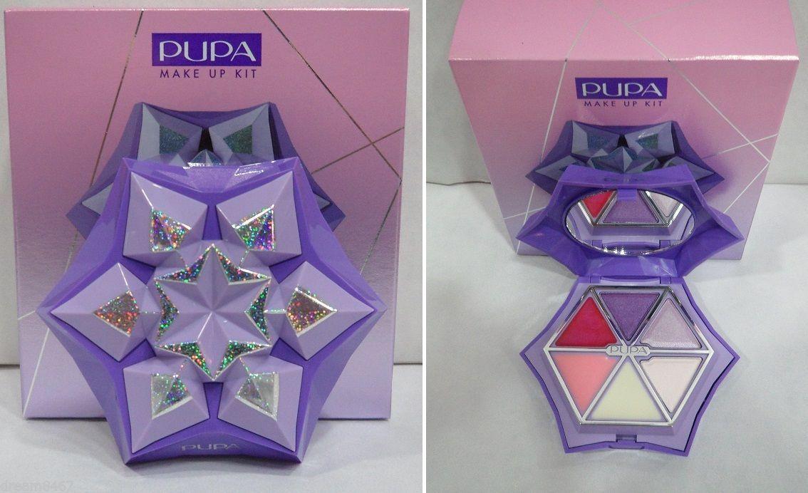 Trousse PUPA SNOWFLAKE (Make Up Kit-Maquillages-Coffret Trucchi) Viola-Lilla 6   Bellezza e salute, Make up e cosmetici, Set e cofanetti   eBay!