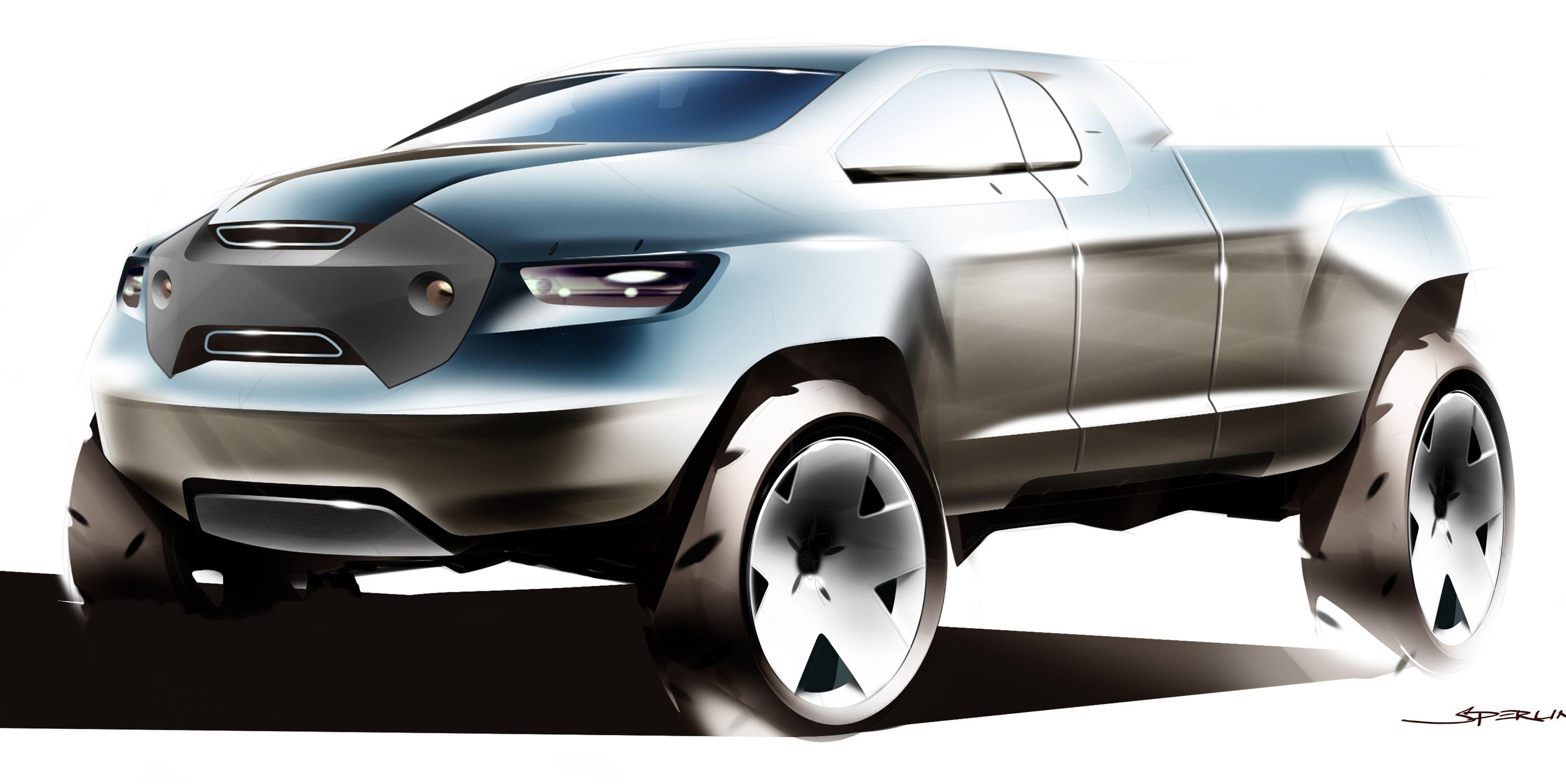 Toyota A-BAT Concept | Truck design, Automotive design ...