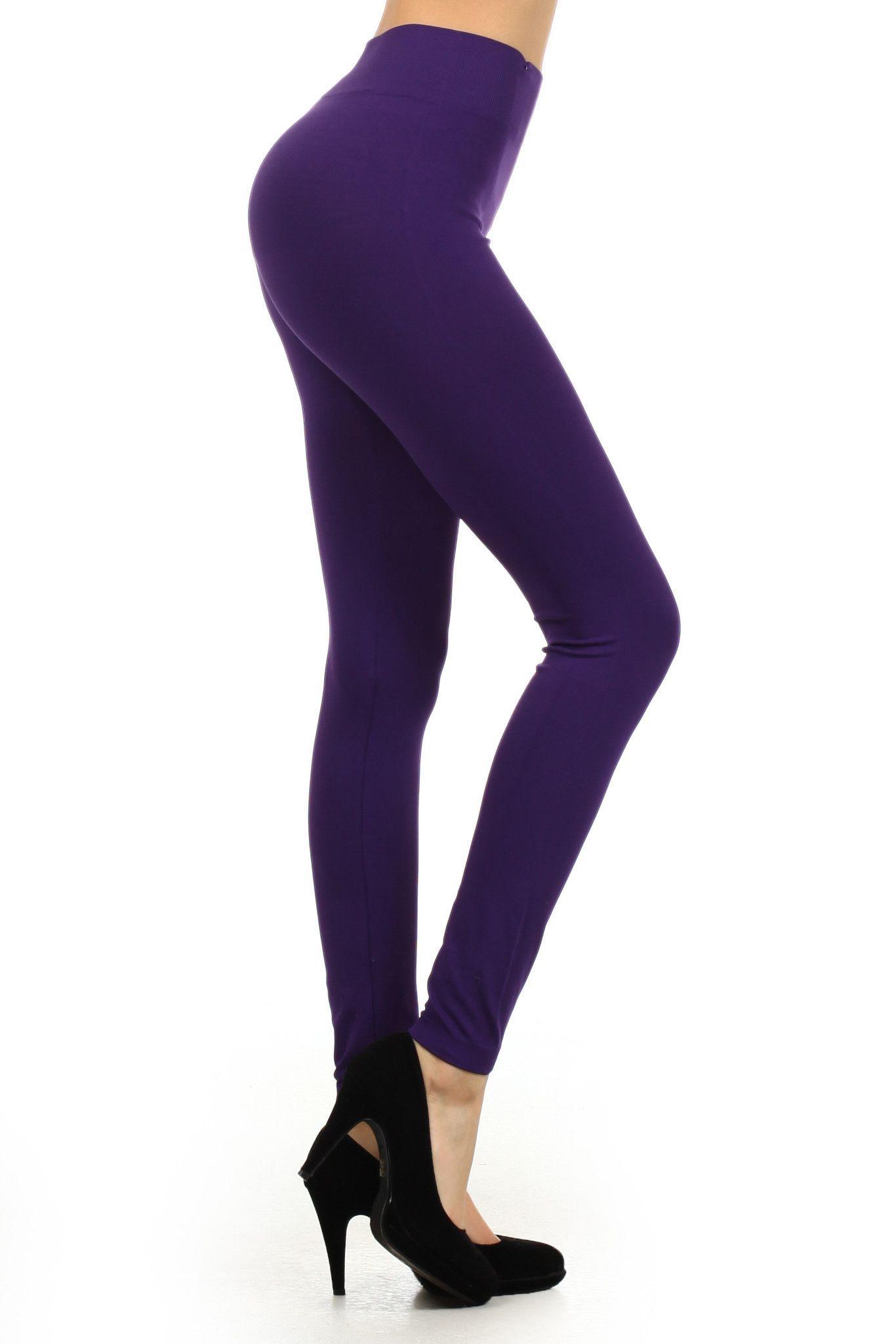 Megan Seamless Legging (Regular and Plus Size) | Iconoflash ...