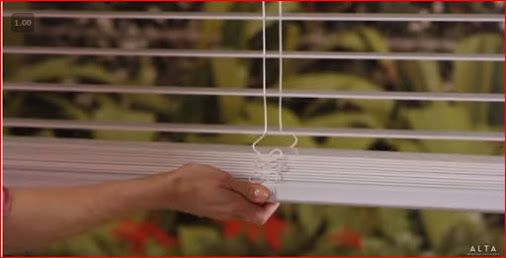 """When used with the wand tilt, horizontal blinds with cordless Lift & Lock are certified as """"Best for Kids"""" for child-safe window coverings. http://www.toledo-window-treatments-windows-blinds-coverings-drapery.com/"""