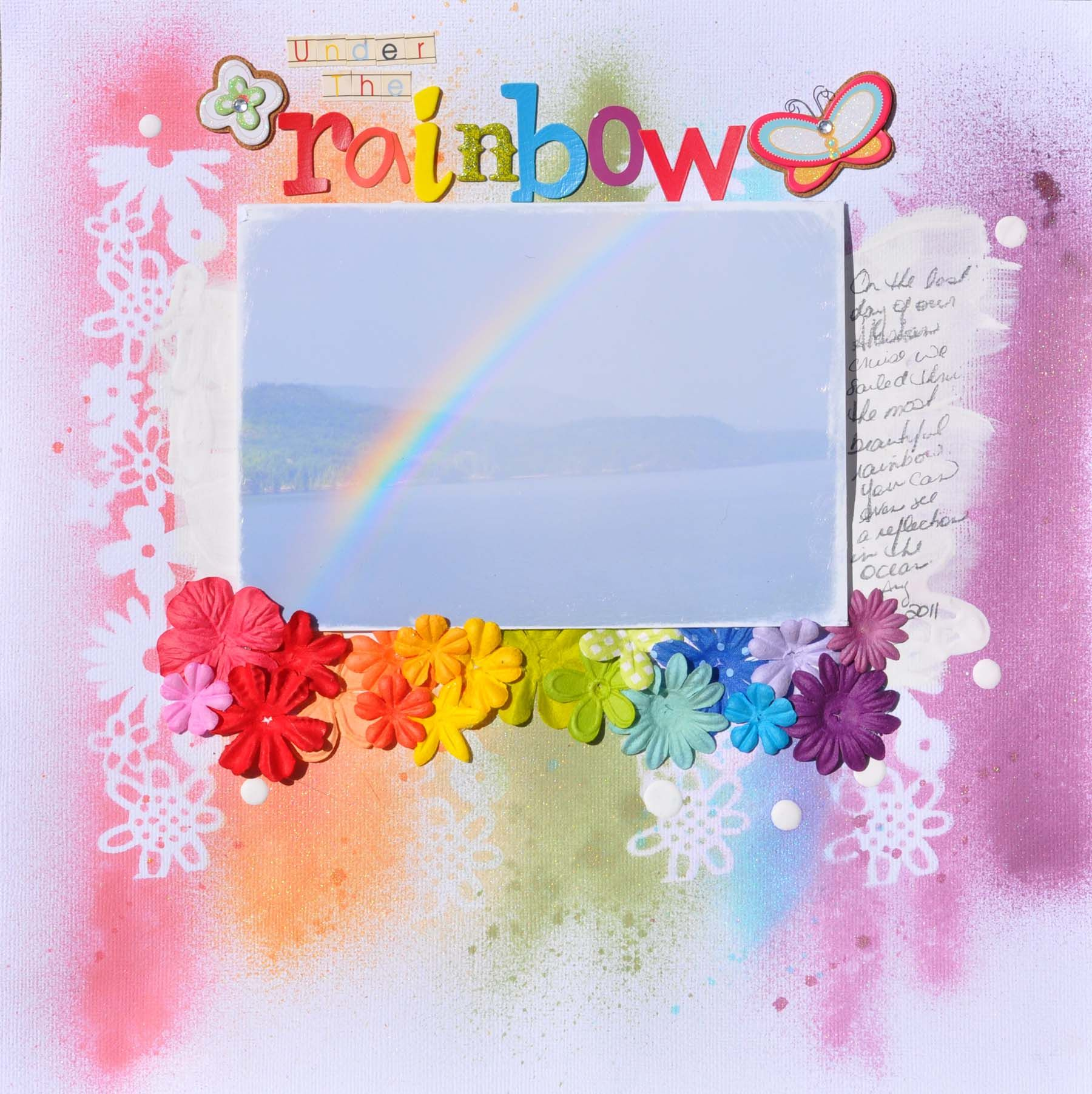 Scrapbook ideas rainbow - Under The Rainbow Scrapbook Com