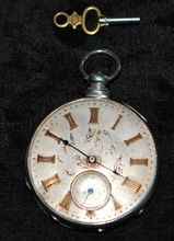 Antique OF Silver and Gold Pocket Watch, 1850-60