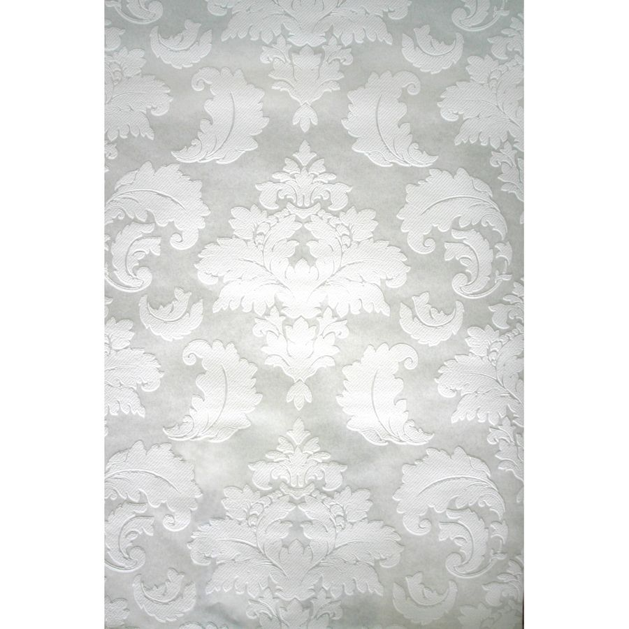 Perfect Shop Style Selections White Strippable Prepasted Paintable Wallpaper At  Lowes.com