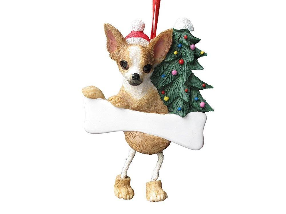 Chihuahua Christmas Ornament Xmas Tree Dog Ornaments Holiday Decoration  Gift #ChihuahuaChristmasOrnament - Chihuahua Christmas Ornament Xmas Tree Dog Ornaments Holiday