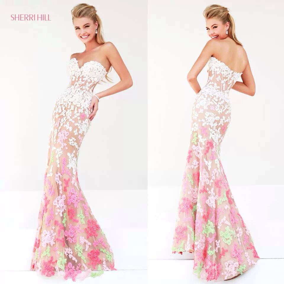 Sherri hill prom dress design fashion pinterest sherri