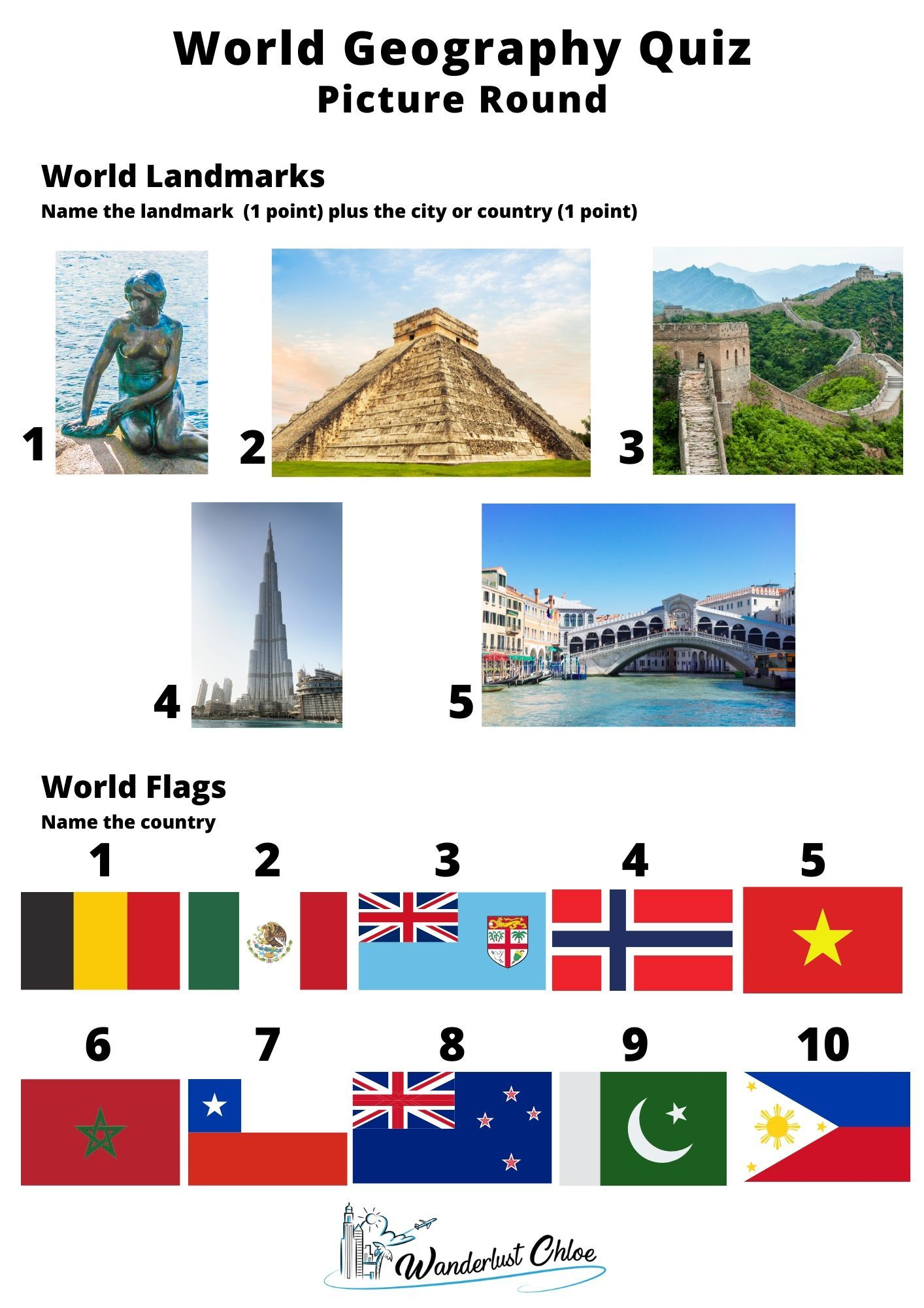 50 World Geography Trivia Questions To Test Your World