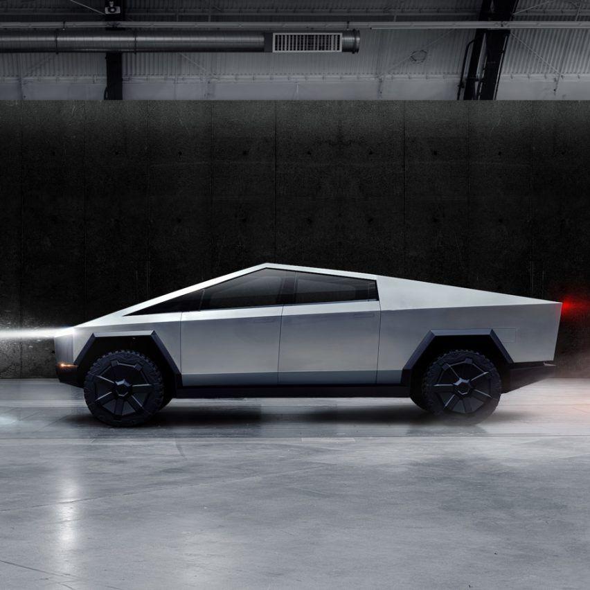 Elon Musk Unveils Tesla S Cybertruck Electric Off Road Vehicle