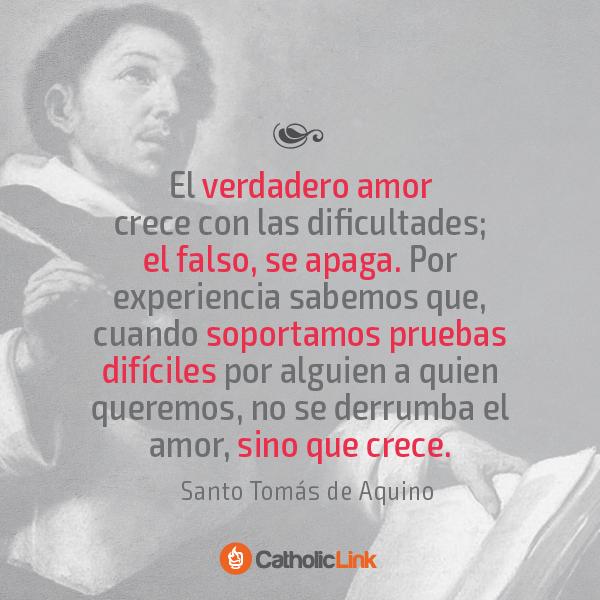 Biblioteca De Catholic Link El Verdadero Amor Según Santo Tomás De